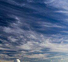 radio telescope - mount stromlo, canberra by ozmackem