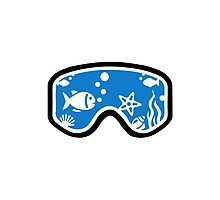 Diving goggles Photographic Print