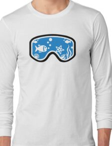 Diving goggles Long Sleeve T-Shirt