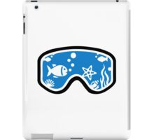 Diving goggles iPad Case/Skin