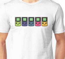 GAMEBOY COLORS PRINT Unisex T-Shirt