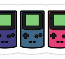 GAMEBOY COLORS PRINT Sticker