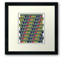 GAMEBOY COLORS PRINT Framed Print