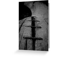 Holding together Greeting Card