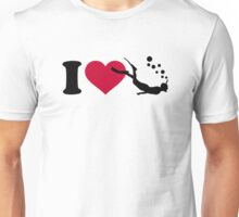 I love Snorkeling Unisex T-Shirt