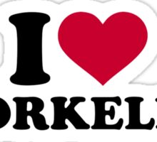 I love Snorkeling Sticker