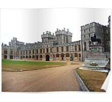 Windsor Castle Wing Poster