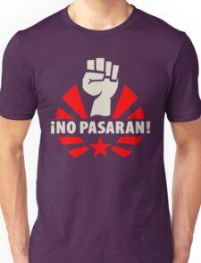 No Pasaran Fist & Star Unisex T-Shirt