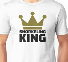 Snorkeling king Unisex T-Shirt