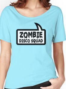 ZOMBIE DISCO SQUAD by Bubble-Tees.com Women's Relaxed Fit T-Shirt