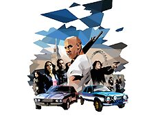Fast and Furious art by Green-TShirts