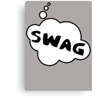 SWAG by Bubble-Tees.com Canvas Print