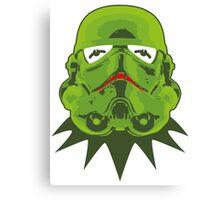 Kermitroopers stencil art Canvas Print