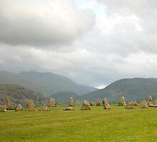 photographers at Castlerigg stone circle, Keswick by PyramidHill