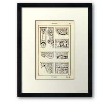 A Handbook Of Ornament With Three Hundred Plates Franz Sales Meyer 1896 0253 Supports Console Framed Print