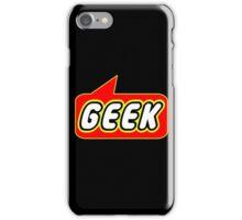 Geek, Bubble-Tees.com iPhone Case/Skin