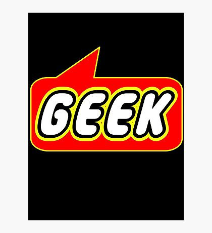 Geek, Bubble-Tees.com Photographic Print