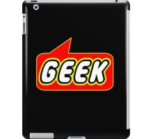 Geek, Bubble-Tees.com iPad Case/Skin