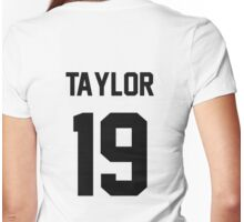 19 (white) Womens Fitted T-Shirt