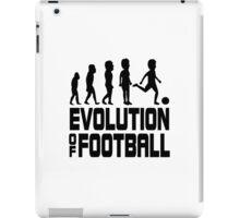evolution of football iPad Case/Skin