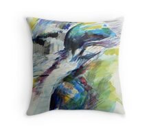 Study of water 1 Throw Pillow