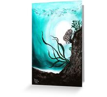Jade Lagoon Greeting Card