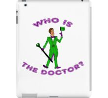 Who Is The Doctor? iPad Case/Skin