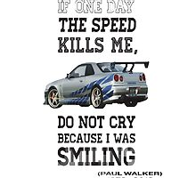 Paul Walker quote by Green-TShirts