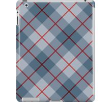 Bias Plaid in Blue iPad Case/Skin