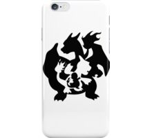 Evolution Charmander - Pokemon iPhone Case/Skin