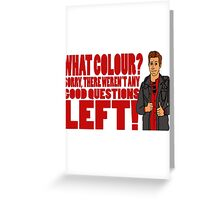 Rory's Question Greeting Card