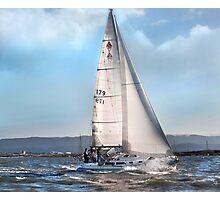 Web Tide 3 Photographic Print
