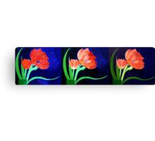 Evolution of a Painted Beauty Canvas Print