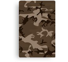 Army Camouflage by Chillee Wilson Canvas Print