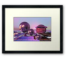 The new sunrise Framed Print