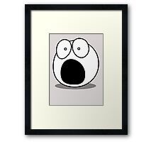 What? by Chillee Wilson Framed Print
