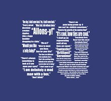 50 Years of Quotes - Doctor Who Unisex T-Shirt