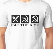 EAT THE RICH, by Chillee Wilson Unisex T-Shirt
