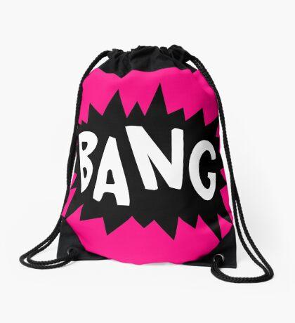 Cartoon Bang by Chillee Wilson Drawstring Bag