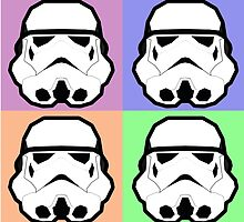 Super Size Colorized Stormtrooper by gabasaure