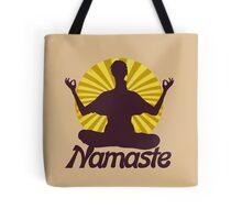 Namaste peaceful meditation  Tote Bag