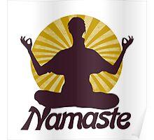 Namaste peaceful meditation  Poster