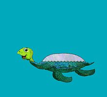 Myrtle C. Turtle by Jean Gregory  Evans