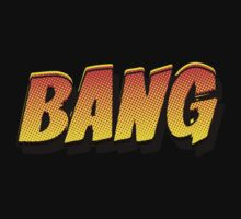 Cartoon BANG by Chillee Wilson Kids Tee