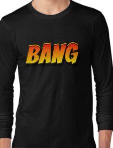 Cartoon BANG by Chillee Wilson Long Sleeve T-Shirt