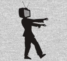 Zombie TV Guy by Chillee Wilson Kids Clothes