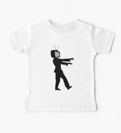 Zombie TV Guy by Chillee Wilson Baby Tee