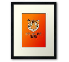 Eye of the Tiger by Chillee Wilson Framed Print