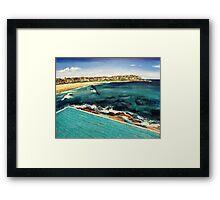 Bondi Views Framed Print