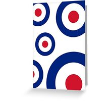 Mod Targets by 'Chillee Wilson'  Greeting Card